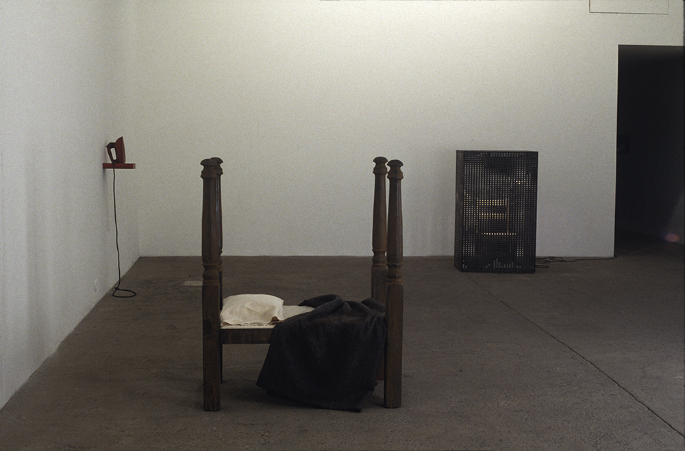 private object. bed and chair 1993